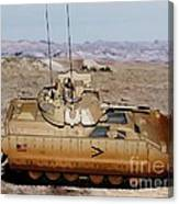 M2 Bradley Fighting Vehicle Canvas Print