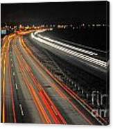 M5 At Night Canvas Print