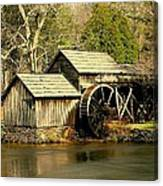 Mabry Mill In Winter Canvas Print