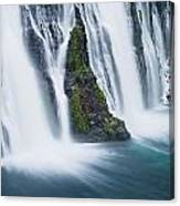Macarthur-burney Falls 1 Canvas Print
