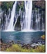 Macarthur-burney Falls Panorama Canvas Print