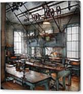 Machinist - Steampunk - The Contraption Room Canvas Print