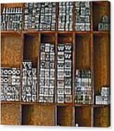 Mackenzie Printery 2 Canvas Print
