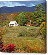 Mack's Farm In The Fall 2 Filtered Canvas Print