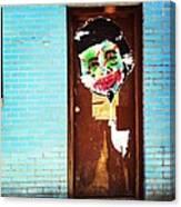 Mad Libs Graffiti Canvas Print