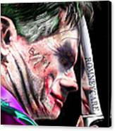 Mad Men Series 2 Of 6 - Romney The Joker Canvas Print