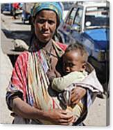 Madonna Of Addis Ababa  Canvas Print