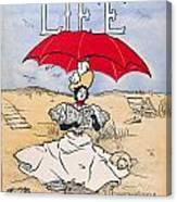 Magazine: Life, 1897 Canvas Print
