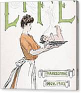 Magazine: Life, 1903 Canvas Print
