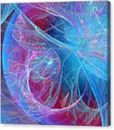 Magenta Blue Canvas Print