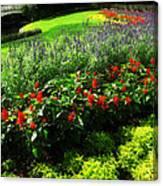 Magic Kingdom Garden Canvas Print
