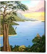 Magic Of The Osa Canvas Print