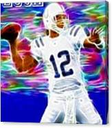 Magical Andrew Luck Canvas Print