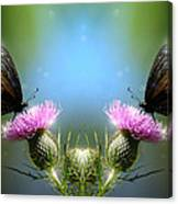 Magical Butterflies Canvas Print