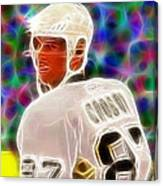 Magical Sidney Crosby Canvas Print