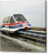 Magnetic Levitation Train Canvas Print