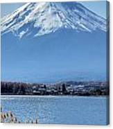 Magnificent Mt Fuji Canvas Print