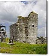 Magpie Mine - Sheldon In Derbyshire Canvas Print