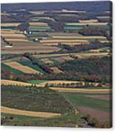 Mahantango Creek Watershed, Pa Canvas Print