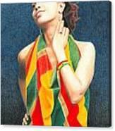 Mahlet Portrait Canvas Print