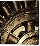 Main Generator Wheel Canvas Print