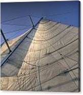Main Sail Canvas Print