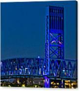 Main Street Bridge Jacksonville Canvas Print