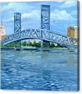 Main Street Bridge Canvas Print