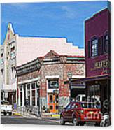 Main Street In Silver City Nm Canvas Print