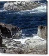 Maine Coast Surf Canvas Print