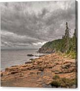 Maine Coastline. Acadia National Park Canvas Print
