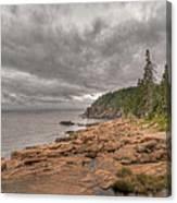 Maine Coastline. Acadia National Park Canvas Print
