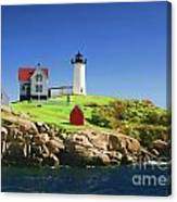 Maine Light Painting Look Canvas Print