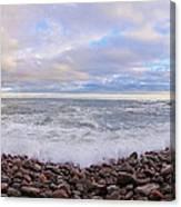 Maine Ocean  Canvas Print