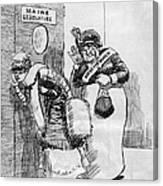 Maine: Womens Suffrage Canvas Print