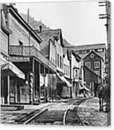 Mainstreet Burke Ghost Town - Idaho Canvas Print