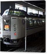 Maizuru Electric Train - Kyoto Japan Canvas Print