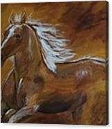 Majestic Freedom Canvas Print