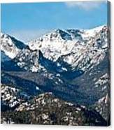 Majestic Rockies Canvas Print