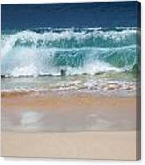 Makena Waves Canvas Print