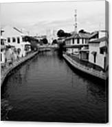 Malacca River In Malacca City Canvas Print