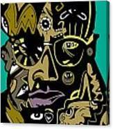 Malcolm X Full Color Canvas Print