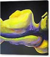 Male Torso Canvas Print