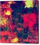 Mali In Abstract Mode Canvas Print