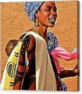 Malian Beauty Canvas Print