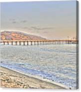 Malibu Pier North Canvas Print