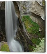 Maligne Canyon 2 Canvas Print
