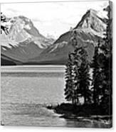 Maligne Lake Canvas Print