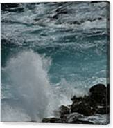 Maliko Point Maui Hawaii Canvas Print