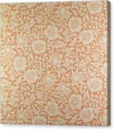 Mallow Wallpaper Design Canvas Print